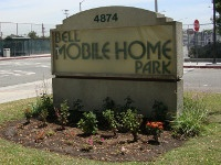 Mobile Home Park Sign Bell